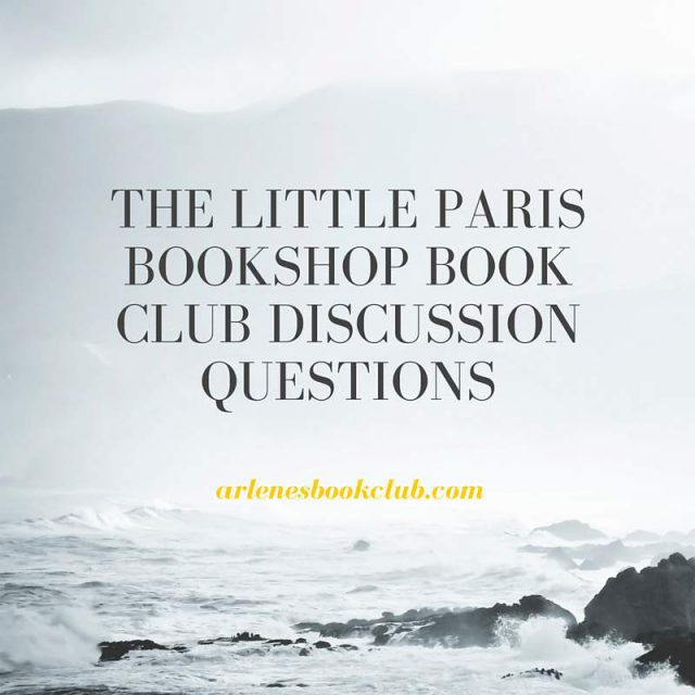 The Little Paris Bookshop Discussion Questions