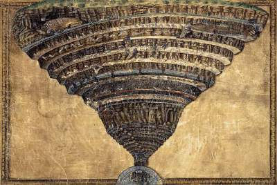 Sandro Botticelli's the abyss of hell