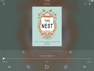 The Nest Audio Book Cover