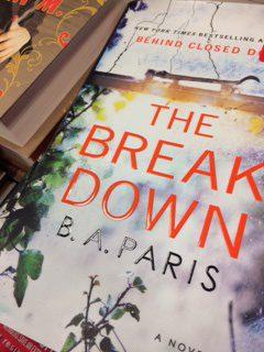 The Breakdown A Novel by B A Paris