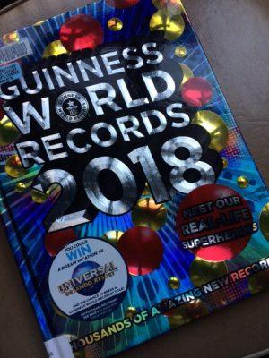 guinness world records 2018 arlene 39 s book club. Black Bedroom Furniture Sets. Home Design Ideas